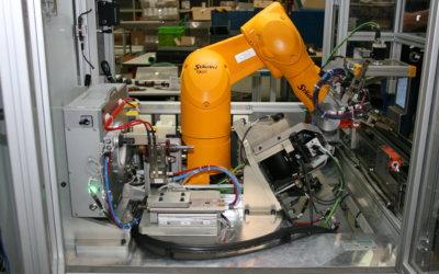 Banc de contrôle électrique robotisé