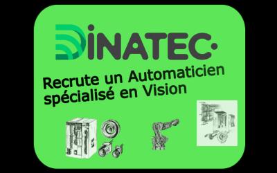 Offre d'emploi – Automaticien spécialiste Vision